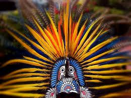 imagenes penachos aztecas penacho azteca imagen foto arte y cultura motivos fotos de