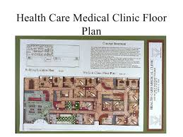 Health Center Floor Plan A Collection Of Design
