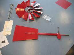how to assemble an 8 foot windmill yard garden windmills