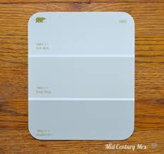 mid century mrs basement picking paint colors
