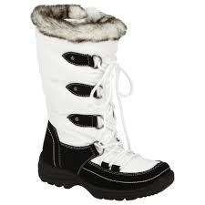 kmart s boots on sale athletech s tamra faux fur winter boot white