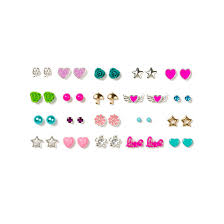 pretty earrings assorted pretty pastel stud earrings s us