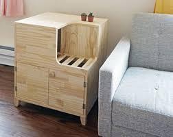 Kitty Litter Bench Litter Box Furniture Etsy