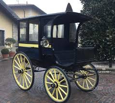 carrozze d epoca carrozza d epoca per cavalli omnibus animali in vendita a brescia