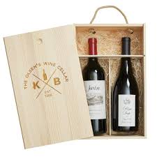 wine bottle gift box personalized pine gift box 2 bottle quadrant 25731 iwa wine