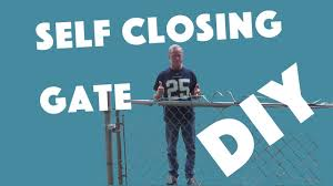 Self Closing Stair Gate by Autism Resources Children Safety Gates Youtube