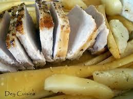 panais cuisine dey cuisine rôti de porc panais poires