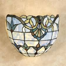 Tiffany Sconces Sconce Stained Glass Wall Sconce Hardware Meeska Wireless Led