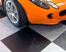 xtreme garage 12 x 12 x 1 2 coin top modular garage floor tile
