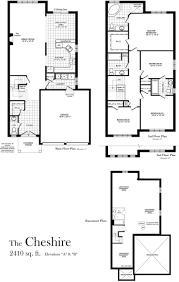 cheshire 2410 sq ft centerville westin homes