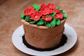 la jolie cuisine et autres a flower pot cake for mother u0027s day