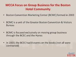boston convention and visitors bureau mass lodging association ppt