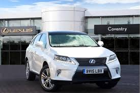 lexus crossover inside used lexus rx cars for sale motors co uk