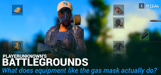 pubg quieter without shoes what does a gas mask do in playerunknown s battlegrounds effect