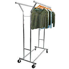 collapsible clothes rack ebay