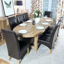 Oak Dining Room Table And 6 Chairs Oak Dining Table Getexploreapp