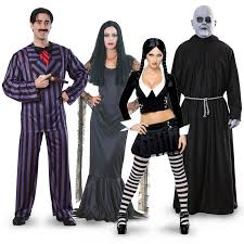 addams family halloween decorations the addams family group costumes buycostumes com