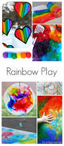 36 rainbow activities for babies toddlers preschoolers and older
