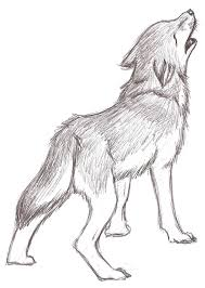 wolf howling sketch by twins6292 on deviantart