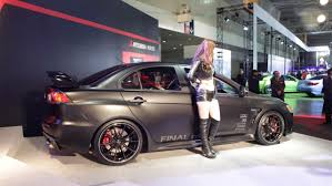 mitsubishi lancer evolution 2015 2015 tokyo auto salon mitsubishi lancer evo x concept auto