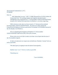 c f orm covering letter
