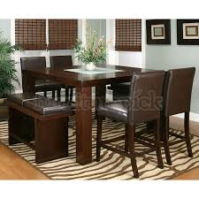 High Dining Room Chairs Pleasing Decoration Ideas Contemporary - Dining room tables counter height