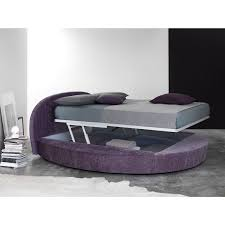 Double Bed Designs Catalogue Satellite Round Bed With Storage Box Arredaclick