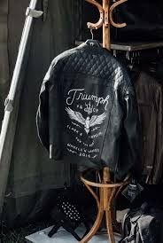 motorcycle over jacket the 25 best triumph motorcycle jacket ideas on pinterest moped