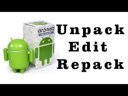unpack apk how to unpack edit and repack apk file no software needed