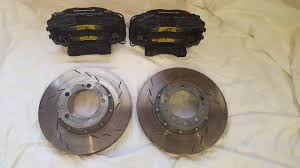 porsche 944 turbo brakes 944 turbo big black brake calipers with 993 floating rotors