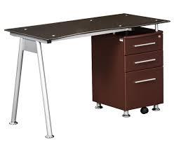 Modern Glass Desks For Home Office by Furniture Morden Tier Shelving Home Office Computer Desk Student