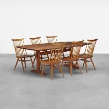 George Nakashima Furniture by 123 George Nakashima Trestle Dining Table U003c Design 8 December