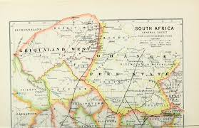 Political Map Africa by File 1895 Political Map Of South Africa From The Castle Line