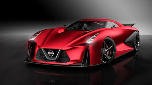 red nissan red nissan 2020 vision gran turismo revealed before tokyo motor