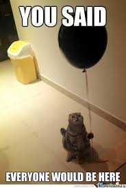 Cat Birthday Memes - sad birthday cat by silent scream meme center