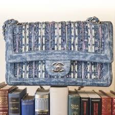 siege social chanel chanel cross timeless blue denim ref a169912 instant luxe