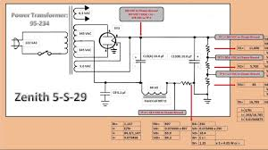 zenith 5 s 29 power supply u0026 voltage divider youtube