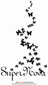 butterfly silhouettes butterfly flutter with
