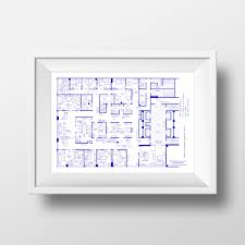 Fantasy Floor Plans Mad Men Sterling Cooper Draper Pryce Offices 37th Floor