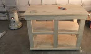 build kitchen island stock cabinets using wall diy base building