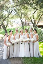 Dove Gray Wedding Dress Unique Or Uniform How To Style Your Bridesmaids
