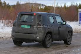 Jeep Spy Shots Spyshots 2015 Jeep Junior Testing Continues Ahead Of Rumored