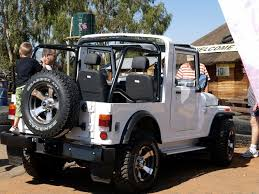 jeep modified classic 4x4 mahindra thar
