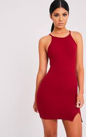 cocktail dresses black red u0026 white prettylittlething
