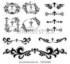 christian symbols stock images royalty free images vectors