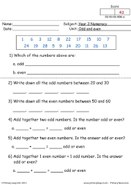 primaryleap co uk odd and even worksheet