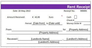 Rental Receipt Template Excel Occupyhistoryus Picturesque Free Rent Receipt Templates Hloomcom