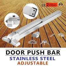 exit panic bar push door device emergency push bar commercial