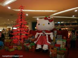 the things i do for love have a hello kitty christmas at sm north
