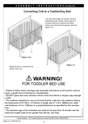 Convert Graco Crib To Toddler Bed How To Turn Graco Convertable Crib Into Toddler Bed Graco